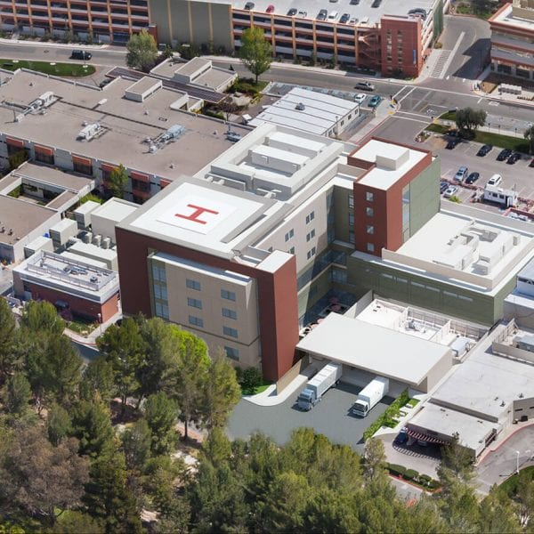 Henry Mayo Newhall Hospital Aerial