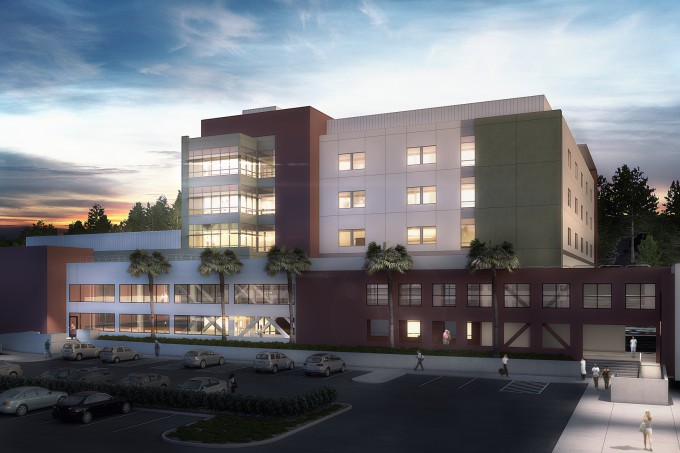 Henry Mayo Newhall Hospital New Patient Tower via HMC Architects