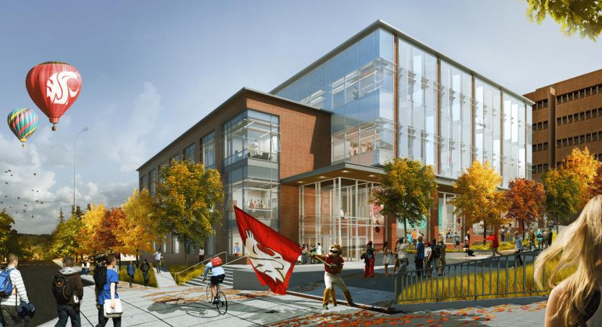 New Campus Gateway At Washington State University