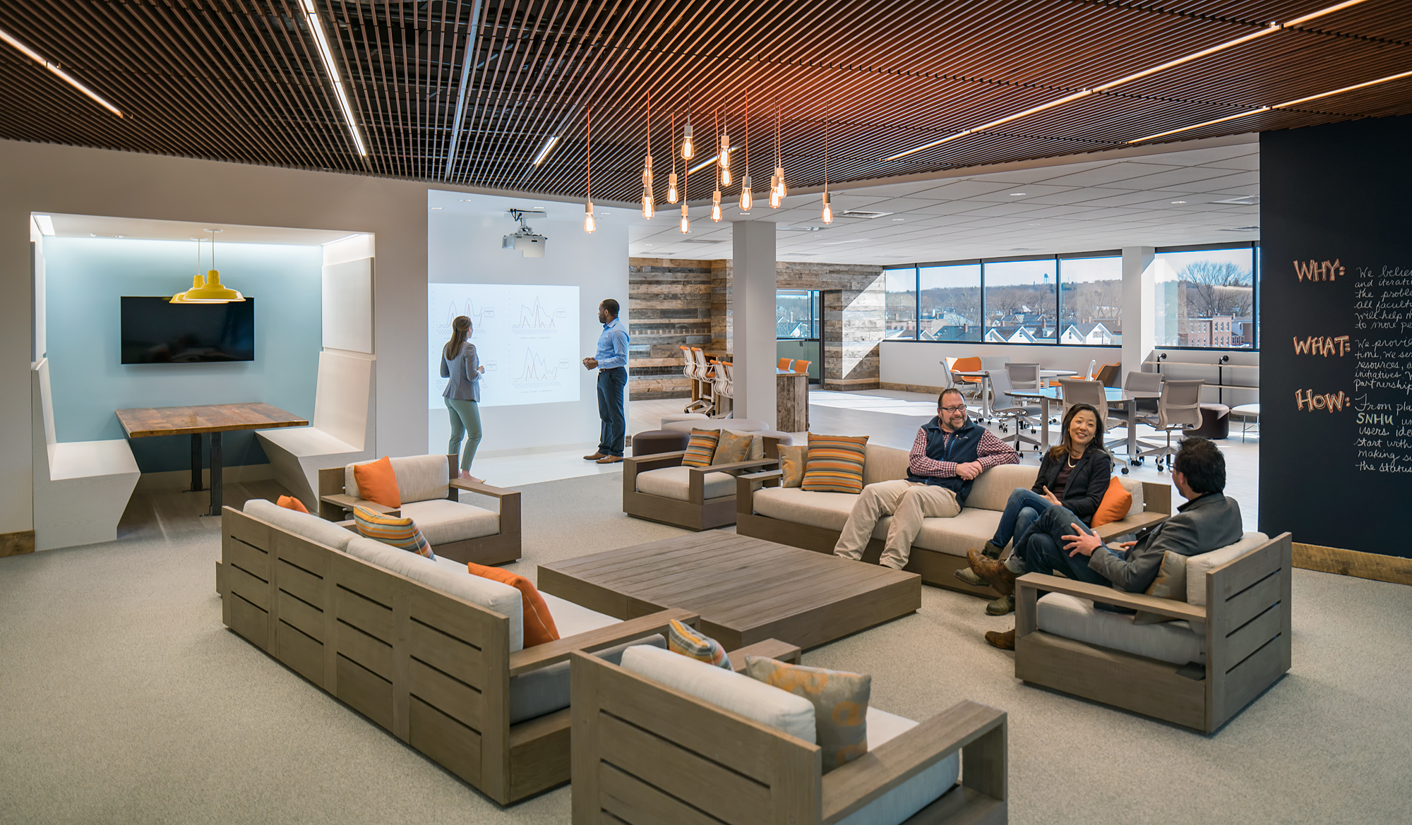 SNHU Sandbox Collaborative Lounge