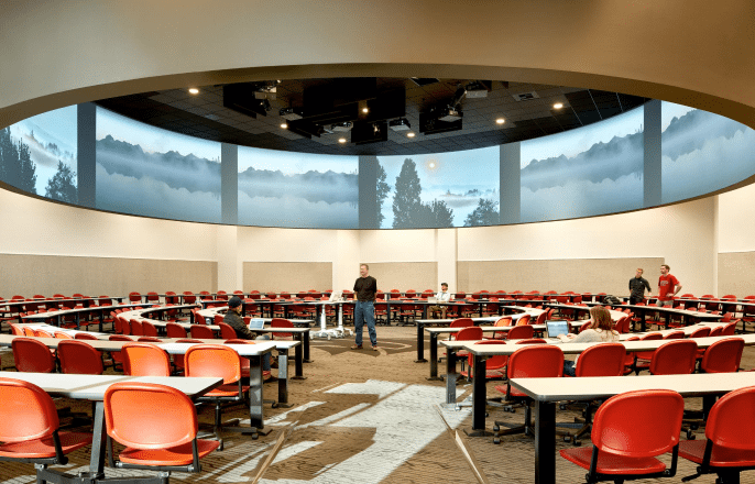 360-degree Active Learning Hall at WSU