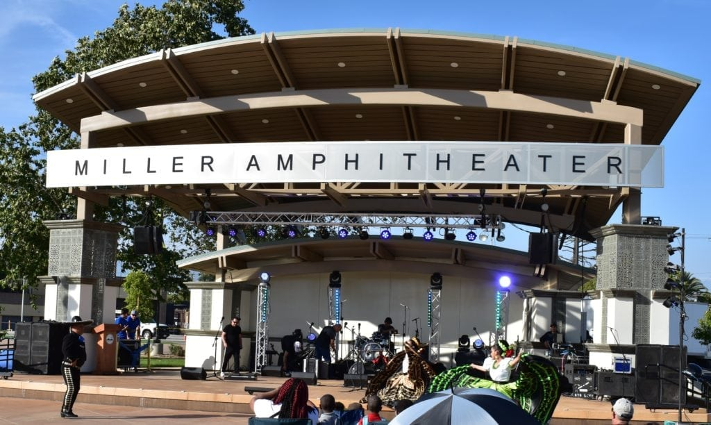 City of Fontana Miller Park Amphitheater