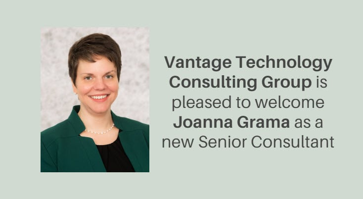 Vantage Technology Consulting Group Welcomes Joanna Grama