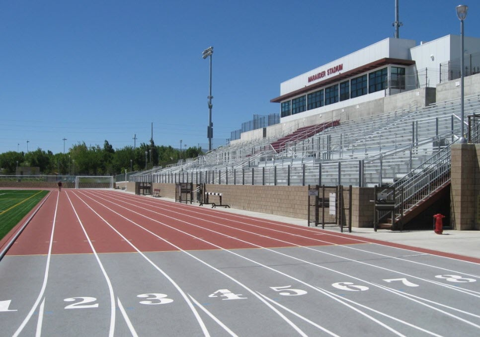 AVC Track and Pressbox