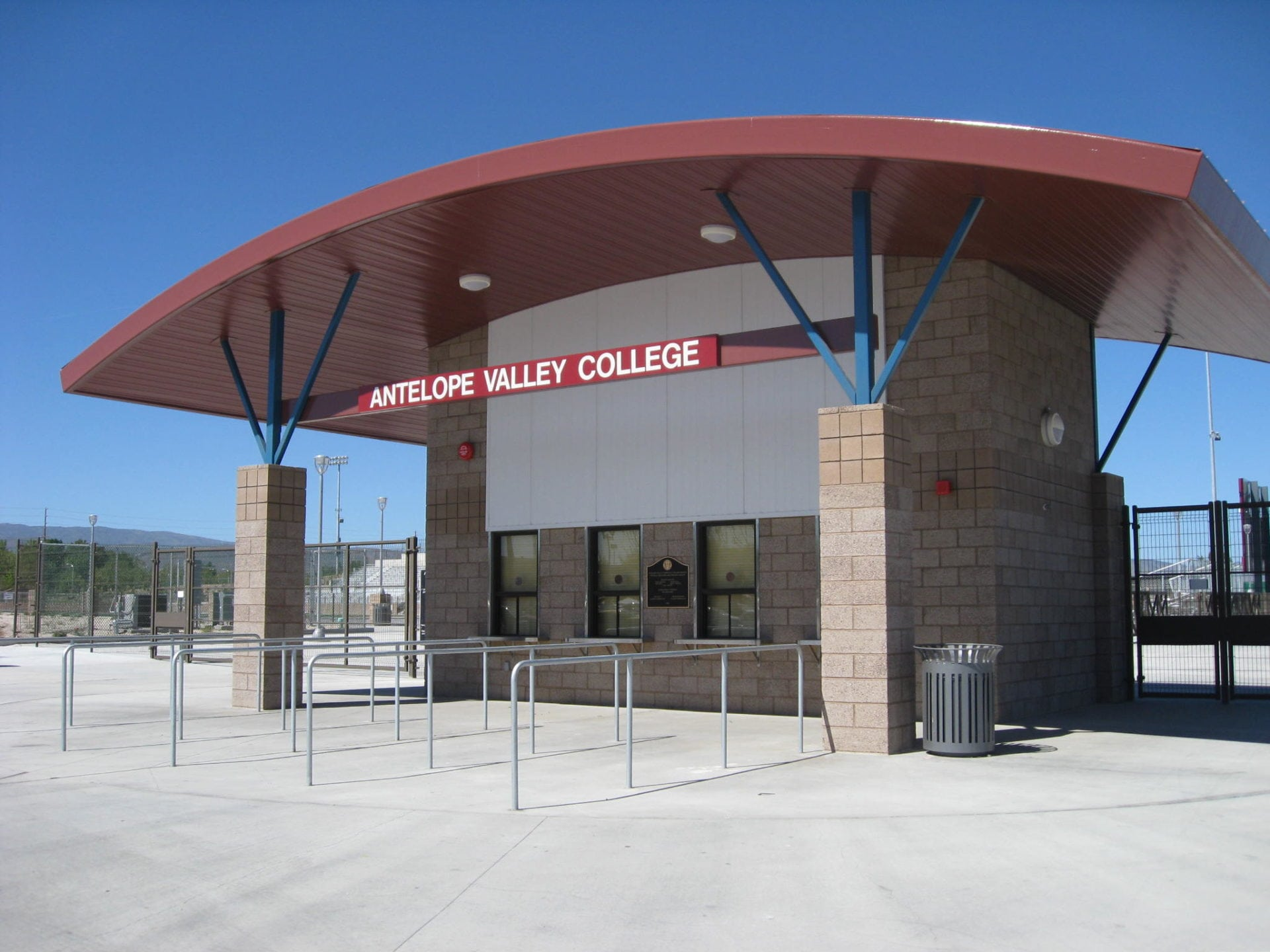 Antelope Valley College - Marauder Stadium Ticket Booth