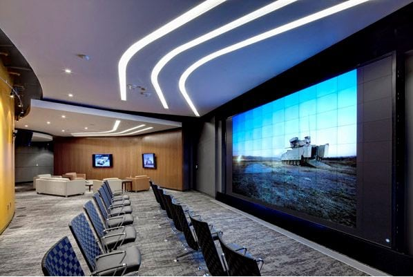 BAE Sterling Heights Video Wall