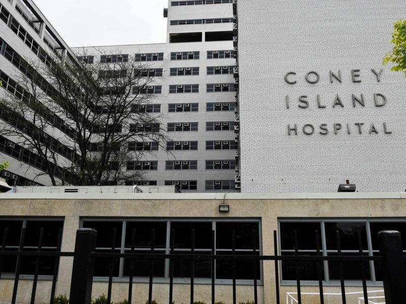 Coney Island Hospital Exterior