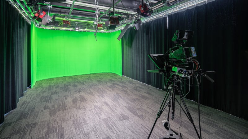 Dartmouth EdX Teaching Theater - Green Screen