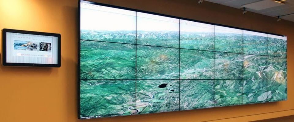 Duke University Link Video Wall