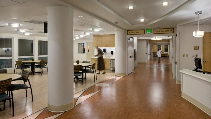 Laguna Honda Hospital and Rehabilitation Center Interior