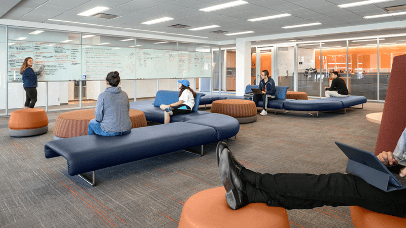 Springfield College - Learning Commons Flexible Space - Via Icon