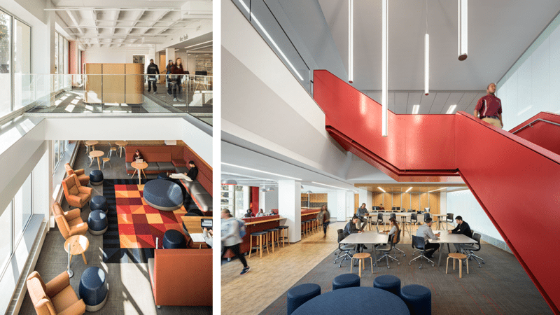 Springfield College - Learning Commons Interior Views - Via Icon