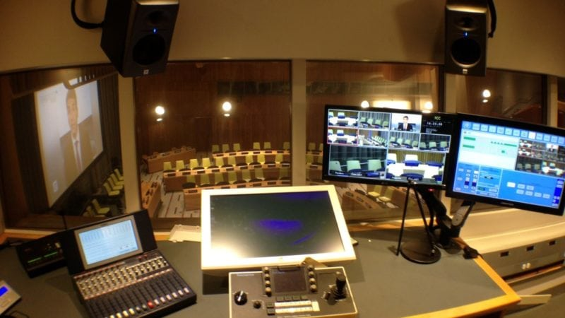 United Nations AV Control Panel