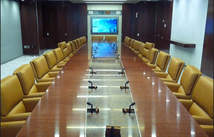 United Nations Secretariat - Conference Table