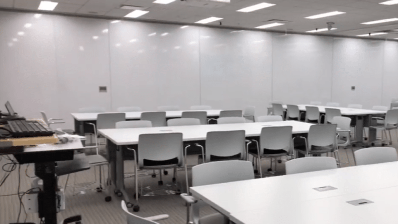 Usciences Flexible Classroom Space