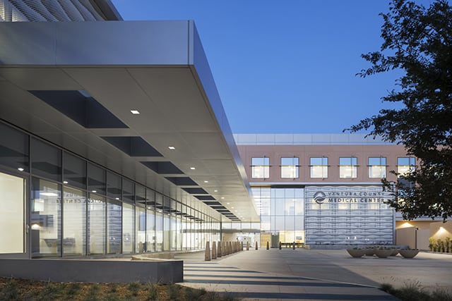 Ventura County Medical Center - Exterior by HOK