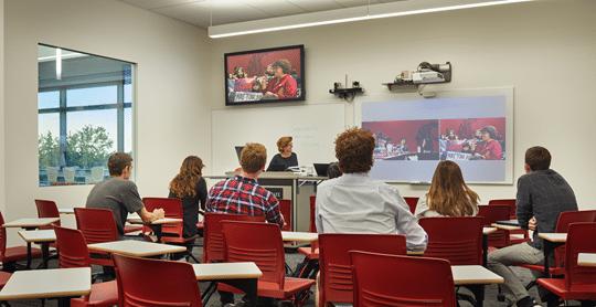 WSU Spark Flexible Classroom - Homepage