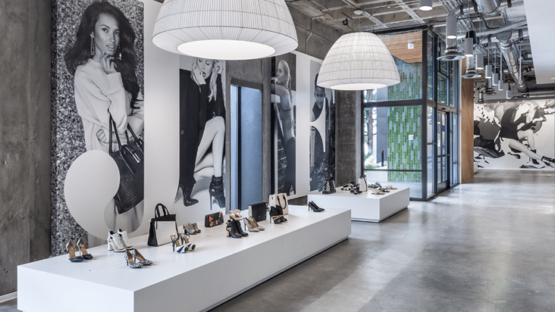 JustFab Headquarters - Display Area