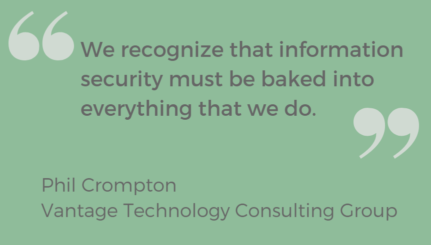Phil Crompton Information Security Quote