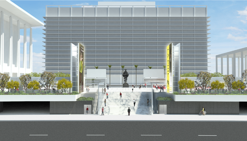 The Music Center Rendering from Rios Clementi Hale Studios - Stair View