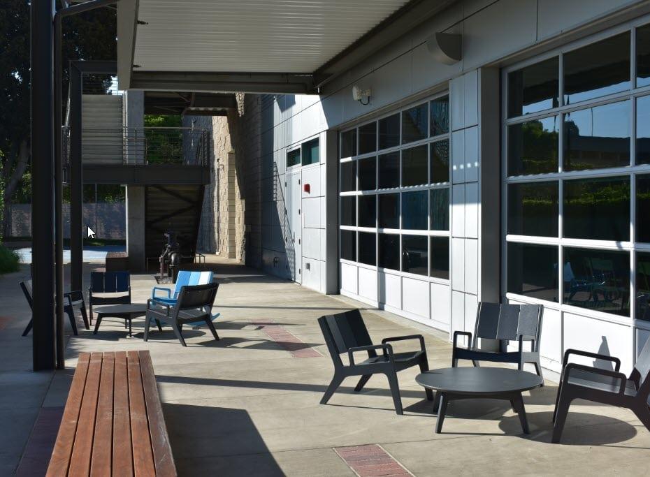 UCLA Geffen Academy - Break Areas