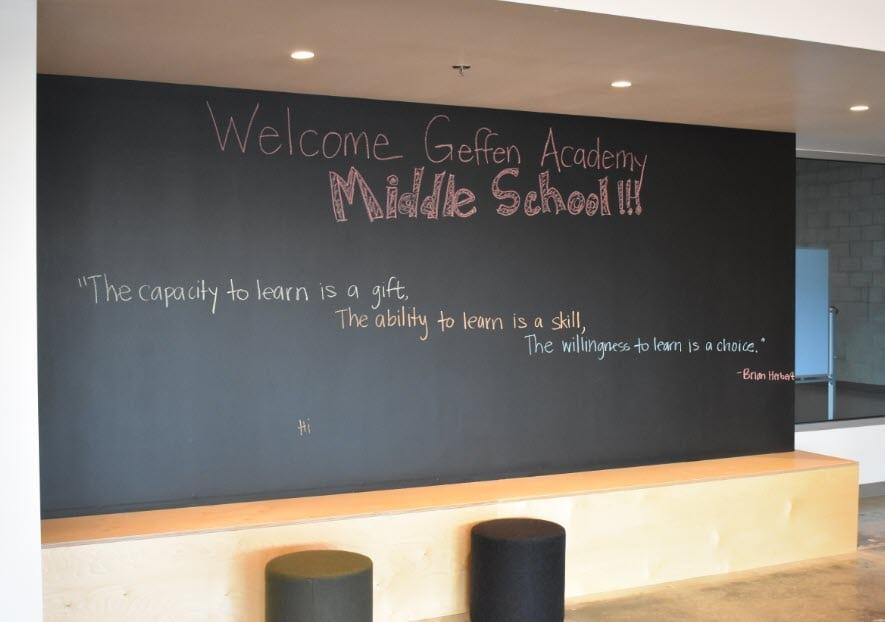 UCLA Geffen Academy - Entry