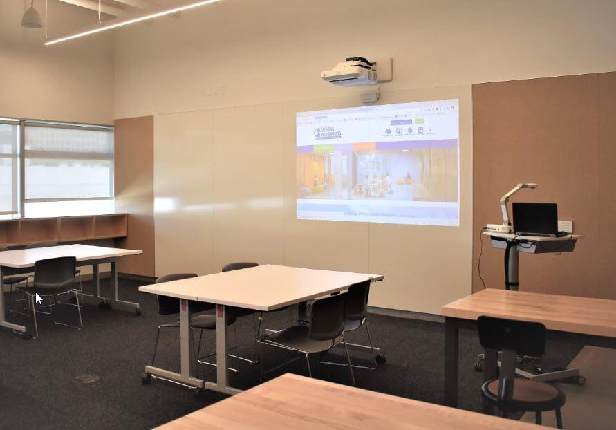 UCLA Geffen Academy - Flexible Classroom