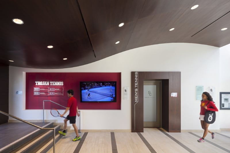 USC Marks Tennis by Lawrence Anderson Photography - Entrance
