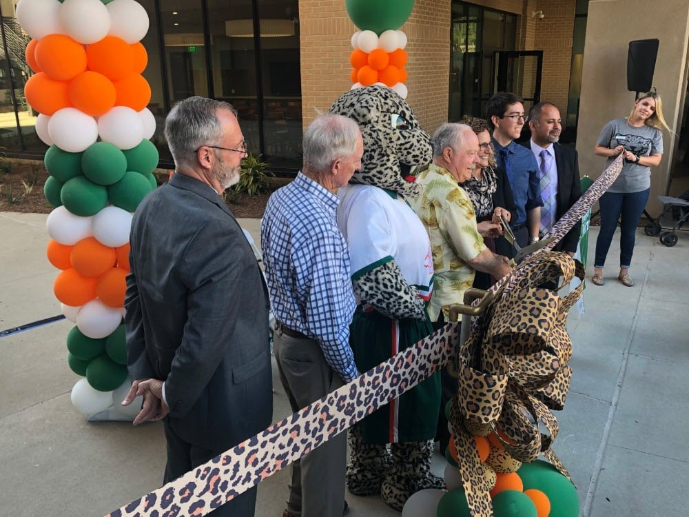 Grand Opening of Citrus Hall at University of LaVerne - via the University Twitter Feed