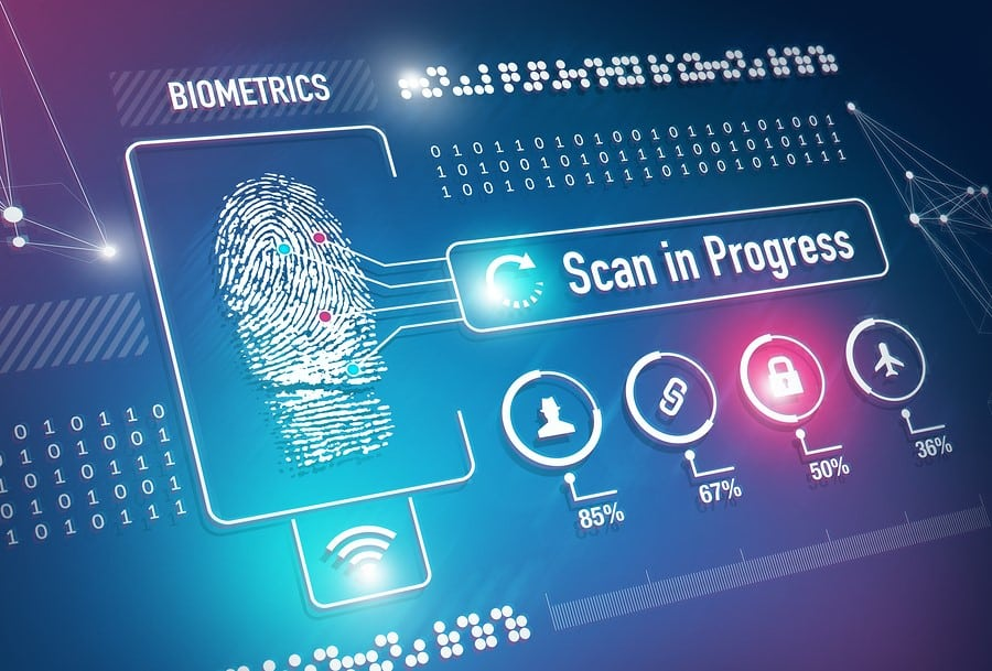 Healthcare Technology - Biometric Security Image via Dreamstime