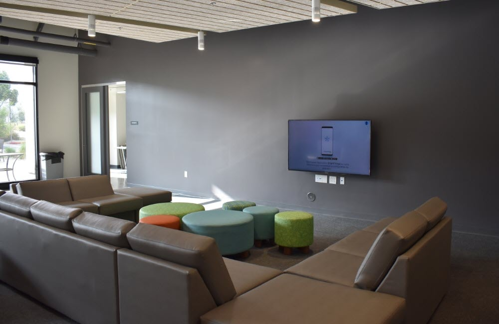 Citrus Hall Lounge at the University of La Verne