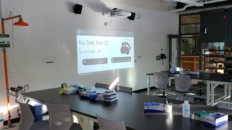 Bowdoin Roux Center - Lab