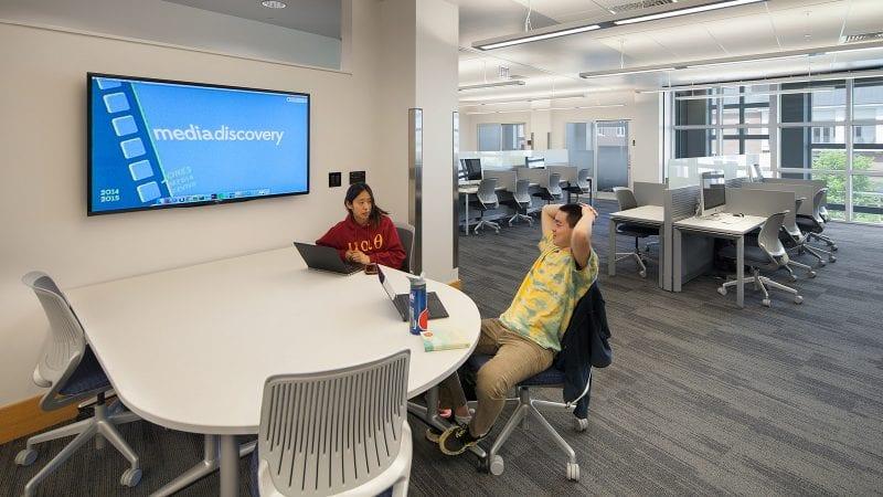 Dartmouth College Jones Media Center - Casual Seating