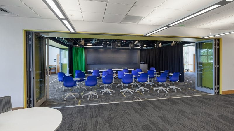 Dartmouth College Jones Media Center - Innovation Studio as Classroom