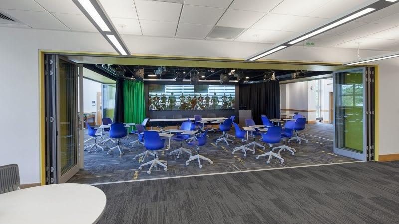 Dartmouth College Jones Media Center - Innovation Studio with Movie