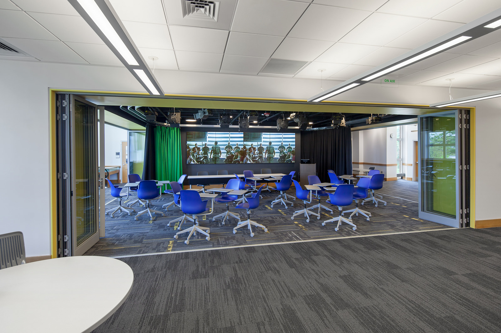 Dartmouth College Jones Media Center - Innovation Studio with Movie