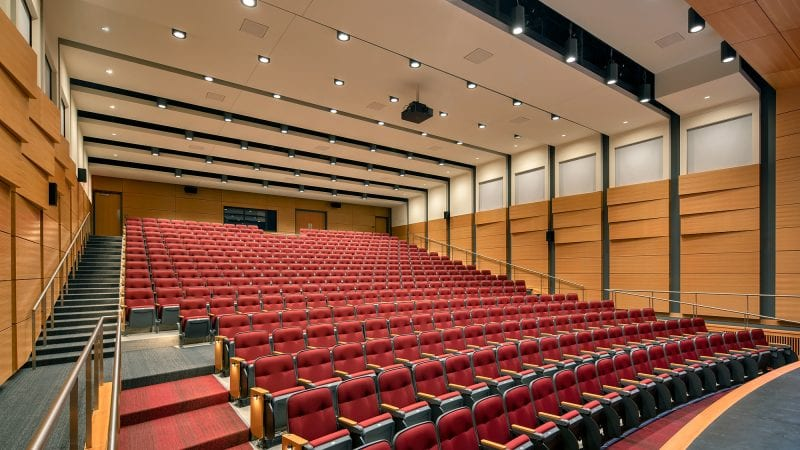 Norwich University Mack Hall - Auditorium from Stage