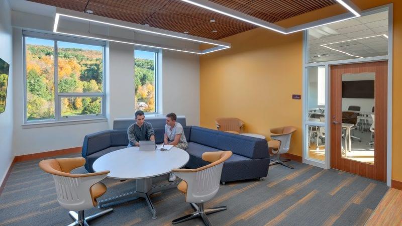 Norwich University Mack Hall - Collaboration Lounge