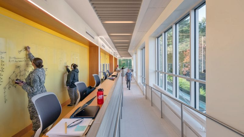 Norwich University Mack Hall - Collaboration Space