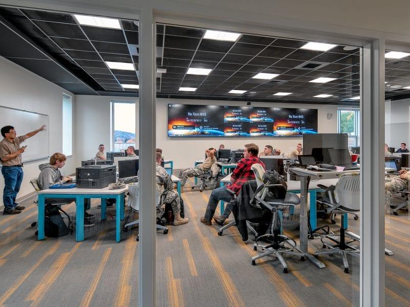 Norwich University Mack Hall - Cyber War Room