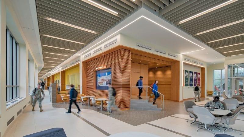 Norwich University Mack Hall - Entrance Lounge