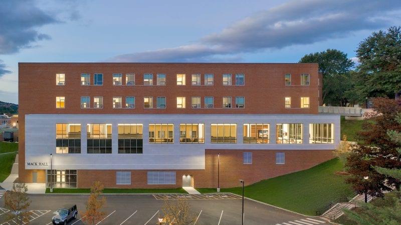 Norwich University Mack Hall - External