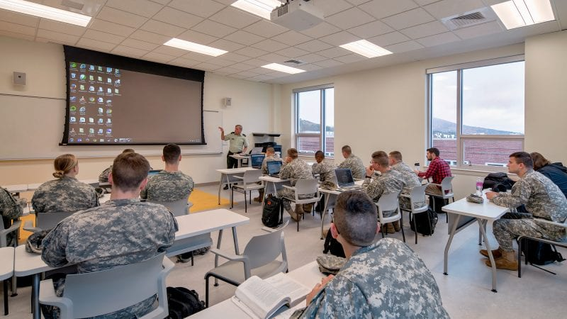 Norwich University Mack Hall - Tiered Classroom