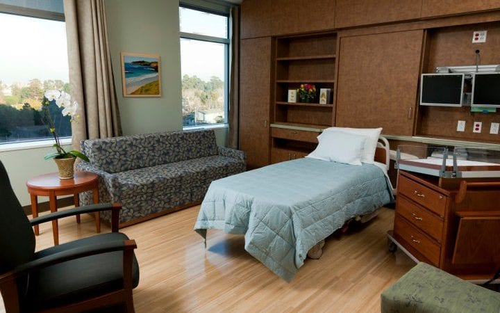 Mills Peninsula Medical Center - Birthing Room