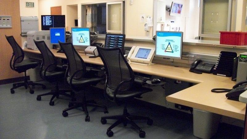 Mills-Peninsula Medical Center - Nurses Station