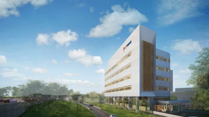 Providence Tarzana Medical Center Render via LADCP - Exterior