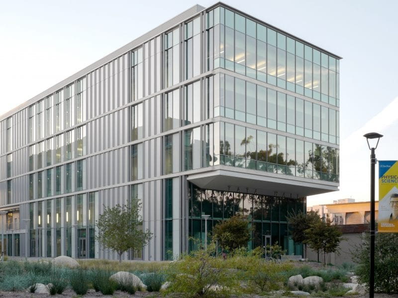 UCSD Tata Hall Exterior via CO Architects