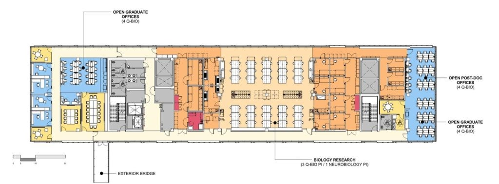 UCSD Tata Hall Research Floor Plan from CO Architects