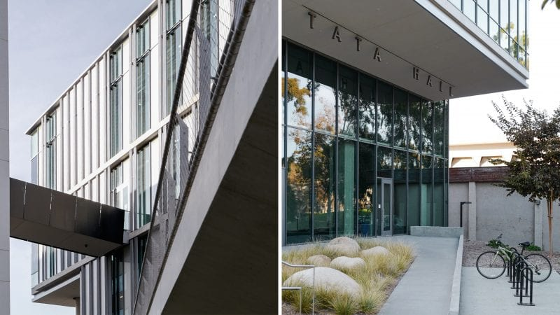 UCSD Tata Hall Split Image from CO Architects