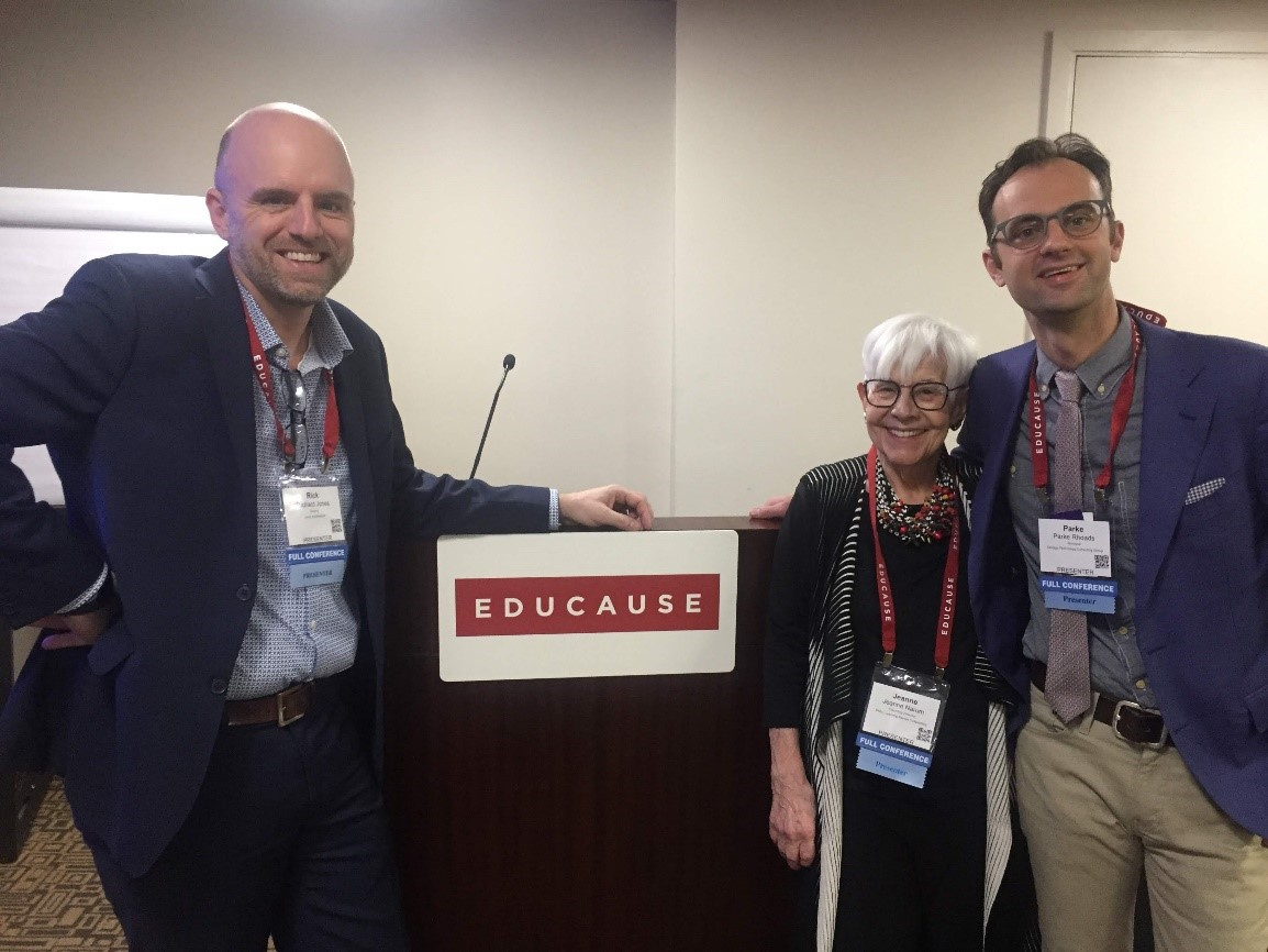 ELI 2019 - Rick Jones - Jeanne Narum - and Parke Rhoads